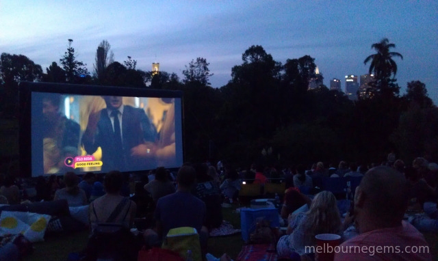 Moonlight Cinema at the Botanic Garden