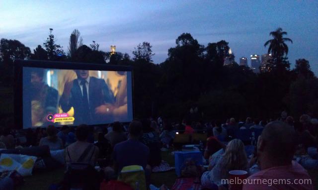 Moonlight Cinema at the Botanic Garden