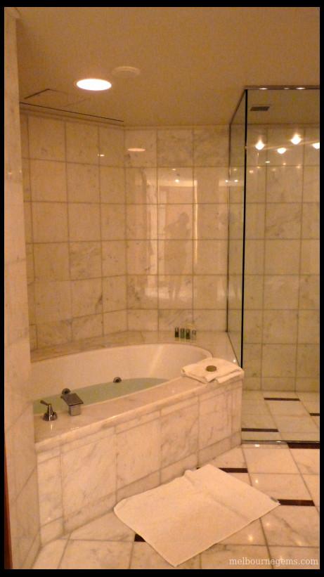 Park Hyatt Melbourne beautiful bathroom