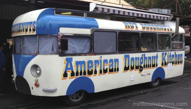 Iconic American Doughnut Kitchen at Melbourne Victoria Market