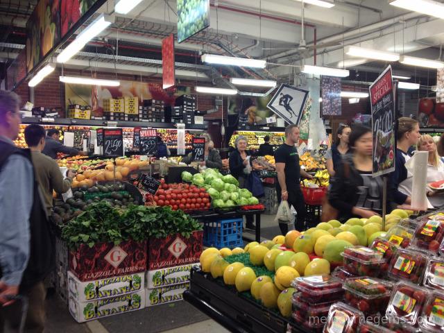 Veg shop at South Melbourne Market
