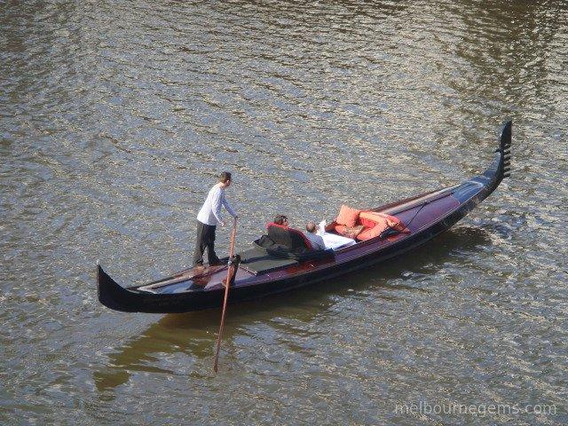 Gondola on the Yarra River
