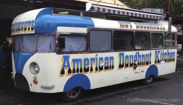 Iconic American Doughnut Kitchen at Melbourne Victoria Market