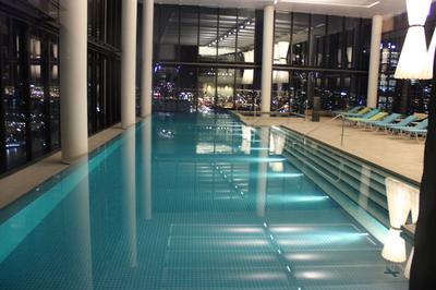 Crown Hotel Melbourne swimming pool